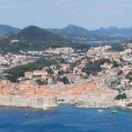 Dubrovnik: vue générale