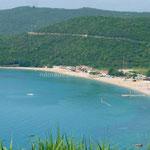 La grande plage de Budva