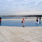 Zadar, Salut au soleil composé de panneaux solaires