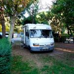 Installation au camping Zeus à Pompei