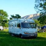 Baška , camping Zablaće