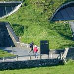 Le visitor centre des Cliffs of Moher est intégré dans le paysage