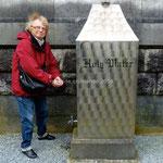 Cobh, St Colman's Cathedral, robinet d'eau bénite!