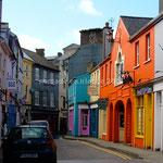 Kinsale, maisons colorées
