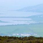 Panorama vu du fort de Grianan Ailligh