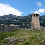 Krujë, les vestiges de la vieille forteresse
