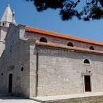 Primošten: l'église