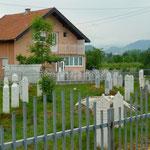 Ilidza: la moindre parcelle a servi de cimetière