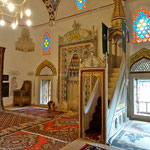 Mostar: Intérieur de la mosquée Koski Mehmed Pacha