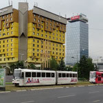 Sarajevo: l'hôtel Holiday Inn où étaient rassemblés tous les journalistes pendant le siège.