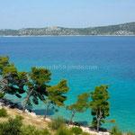 La côte croate est superbe