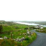 La Sky Road près de Clifden