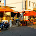 Vendeur de rue à Shkodër