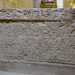 Jurandvor, église Ste Lucie, stèle de Baška