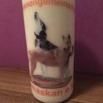 Kerze für einen Verein erstellt