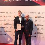 Erik Heydrich mit DGS-Sportdirektor Stefan Lamertz