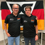 neuer Technischer Leiter Dirk Rohwedder (links) und neuer Verbandsfachwart Thomas Göpfert (rechts)