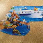 EI121 Speedboot Playmobil