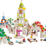 Cc44 Brikkon stad met lego