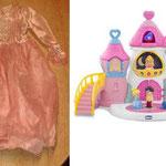 EI28 Kasteel prinses Chicco met jurk
