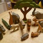 EI147 Savanne dieren