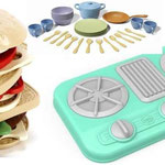 EI163 Kookplaat met servies