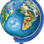 Pb21 Disney Globe 3D