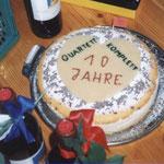 Kuchen zum 10.-jährigen Bestehen