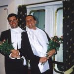 Auf der MS Deutschland 2002