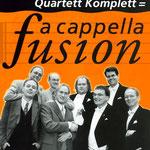 a cappella-Fusion mit unseren Freunden von Take Four 1997