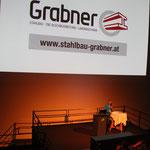 Die Firma Stahlbau Grabner - Experte für Bauen im hochalpinen Raum - unterstützte uns auch heuer wieder.