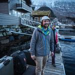 Sverre Hjelmeland, der norwegischer Bergführer, der die Puiva-Crew die kommende Woche seine Sunnmore Alps zeigen wird.