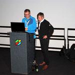 Paul Sodamin gestaltete den zweiten Vortragsteil.