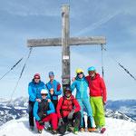 Gipfelfoto am Gampenkogel
