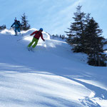 Petra und Christoph beim Powder-Eight-Training
