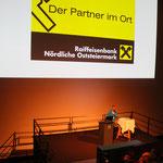 Die Raiffeisenbank Nördliche Oststeiermark unterstützt uns in allen finanziellen Belangen und eben auch beim Weißen Rausch.