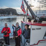 unser Taxiboot Baltasar ...