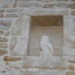 Chouette en pierre - Création Didier Cailloux