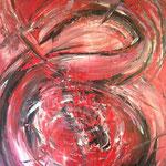 Lebendige Wut - Acryl 100 x 80 (2018)
