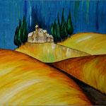 Sonniges Land - Acryl 70x100 (2011)