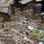 I parchi giochi per i bimbi di Kibera.