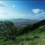 Veduta delle colline Ngong nei pressi di Nairobi