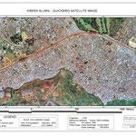 Immagine satellitare di kibera.