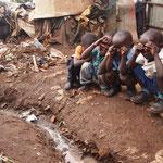 I bimbi di Kibera.