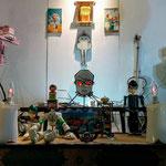"""アストロ温泉  個展「デンジャラスリゾート」 @Links gallery / Astro Onsen solo exhibition """" Dangerous Resort"""""""