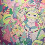 """ナナ マツザワ 個展 「エンチャントメントゼリークラブ」@Linlow / Nana Matsuzawa solo exhibition """"Enchantment jerry Club"""""""