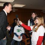 Tim Mittelstaedt wurde von den Schülerflöhen interviewt