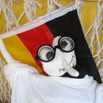 Egal ob Fußball oder Handball - Florino findet es immer toll wenn Deutschland spielt