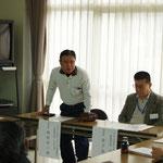 (来賓)JARL広島県支部長 JA4JPN 越智 良二 様   JARL島根県支部長 JE4WWK 金子 由次 様