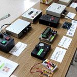 JARL広島県支部 工作教室作品展示コーナー